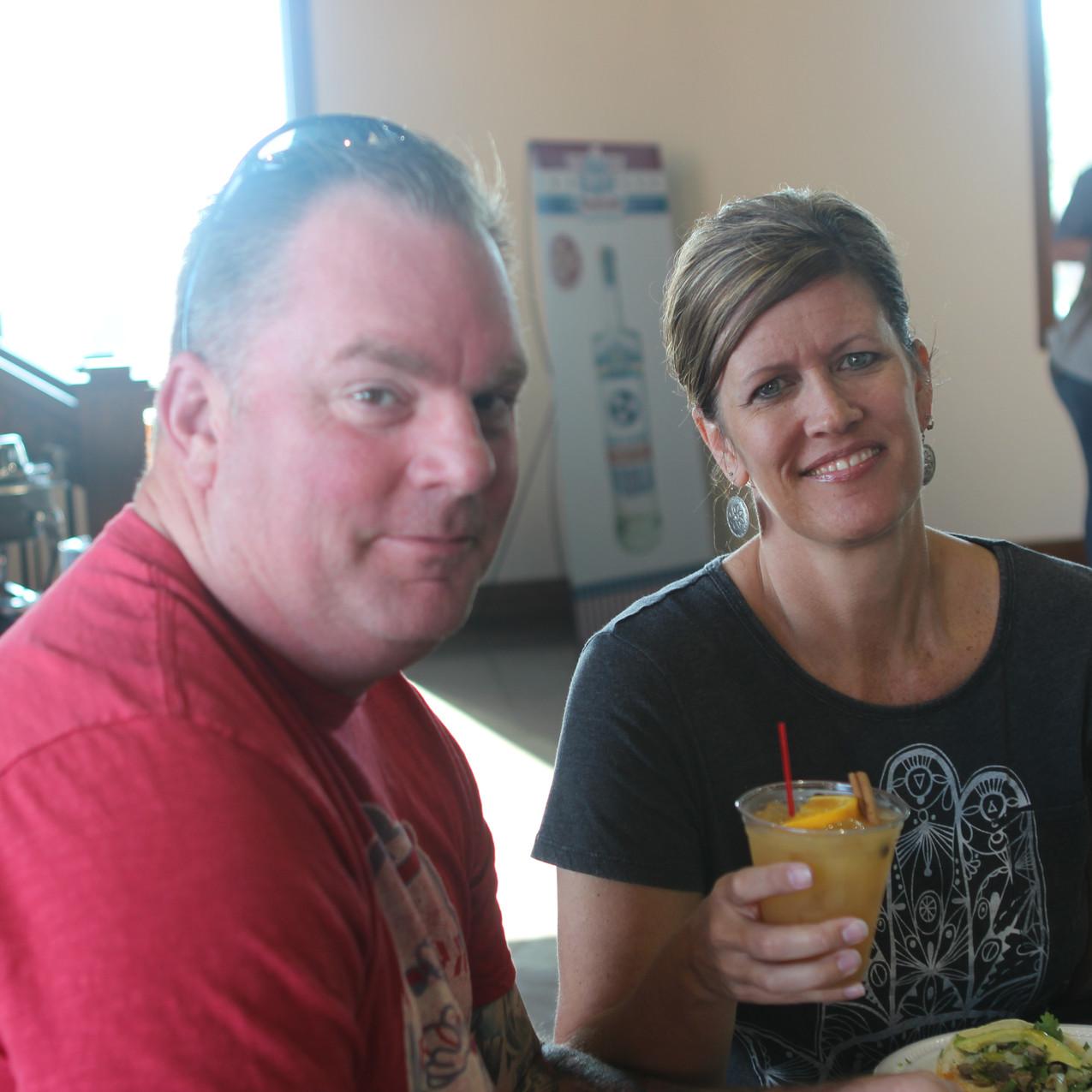 Steve and Michelle Hunter