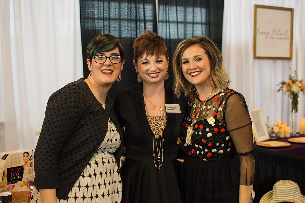 Stephanie Carlson, Jessica Reutzel & Makenzie Bryant
