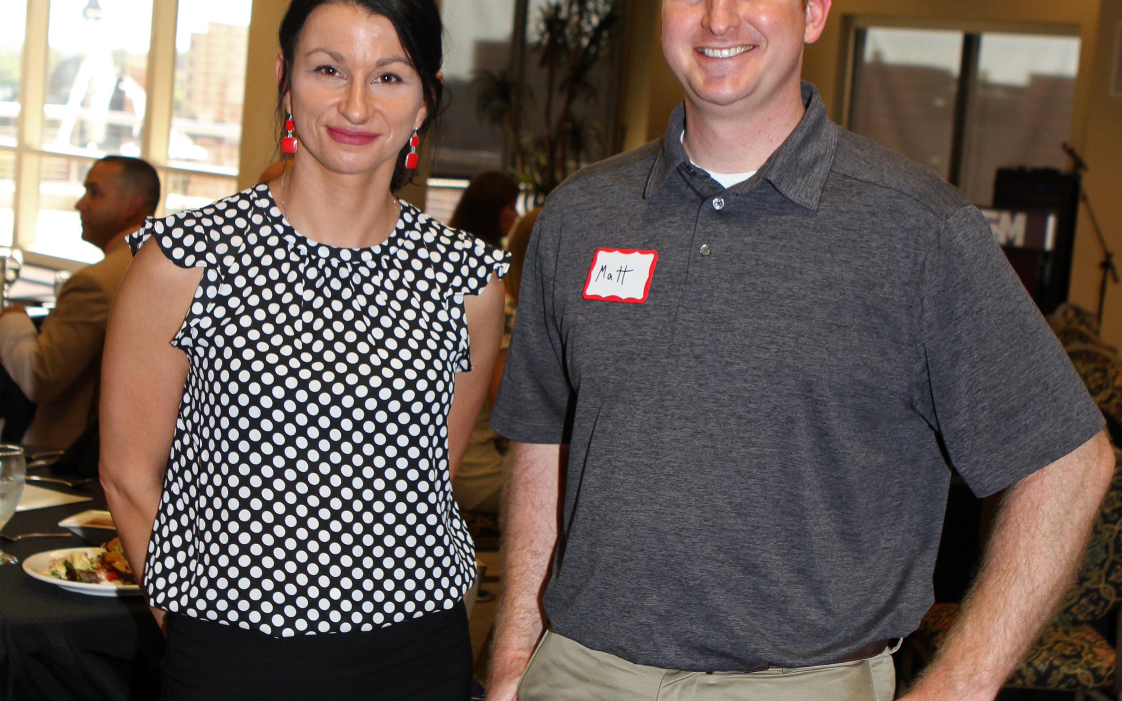 Anna Krajewski, Matt Blanchard