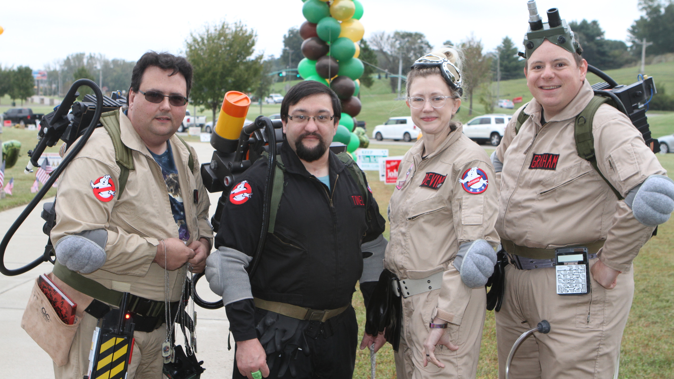 Ghostbusters Christopher Duncan, Joe Ton