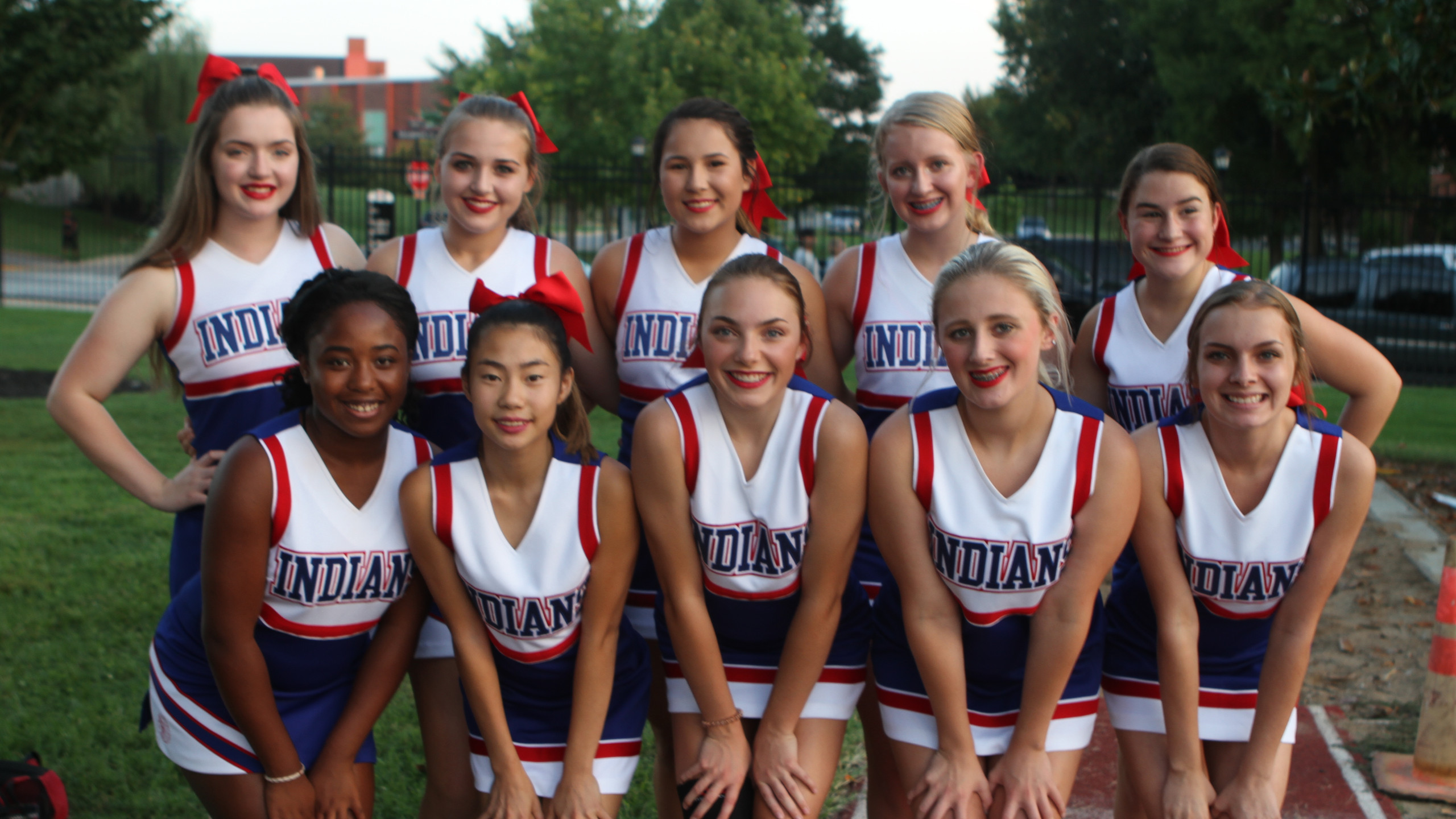 Montgomery Central Indians Cheerleaders