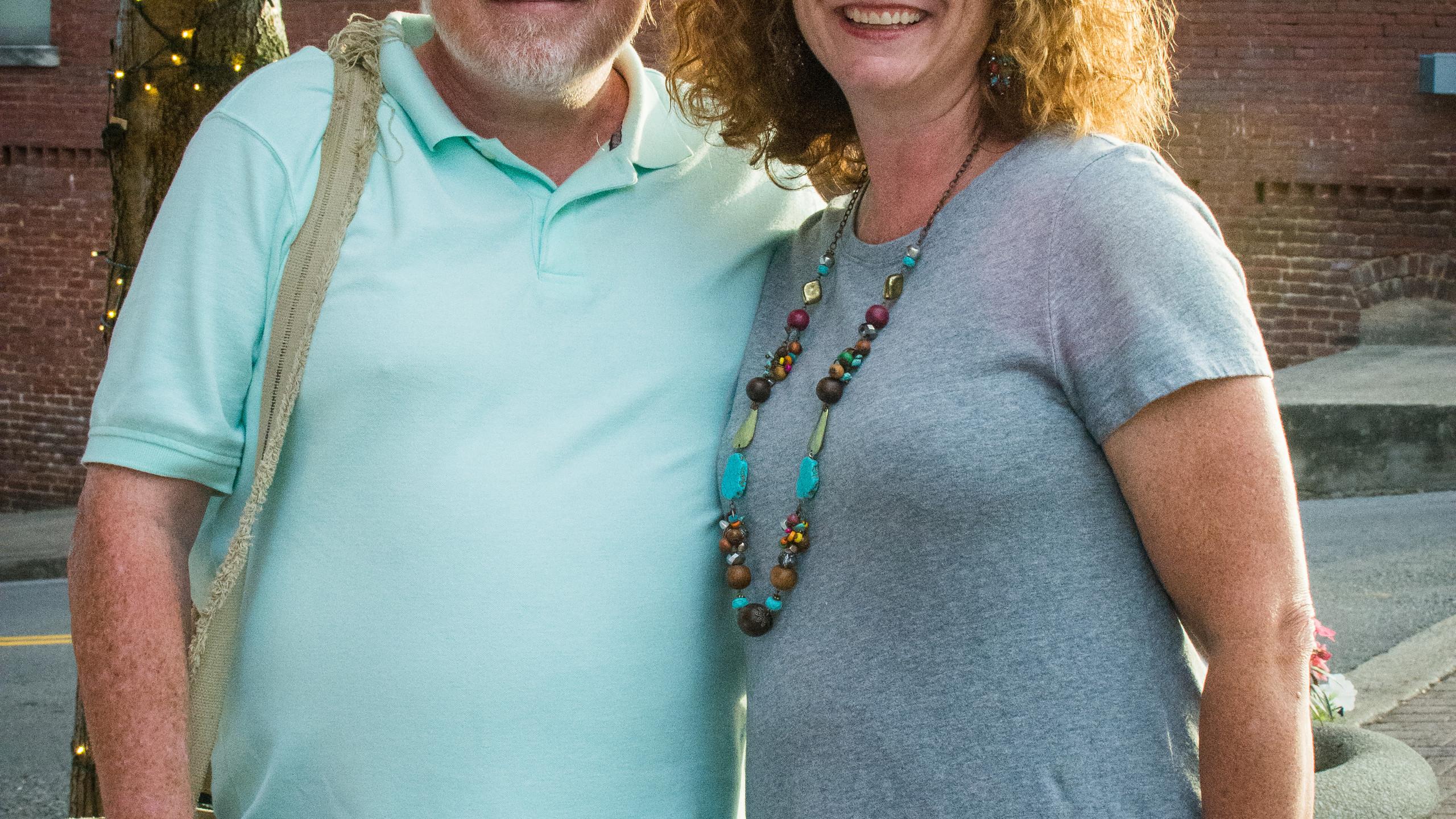 Tony Centonze and Lynne Halliburton