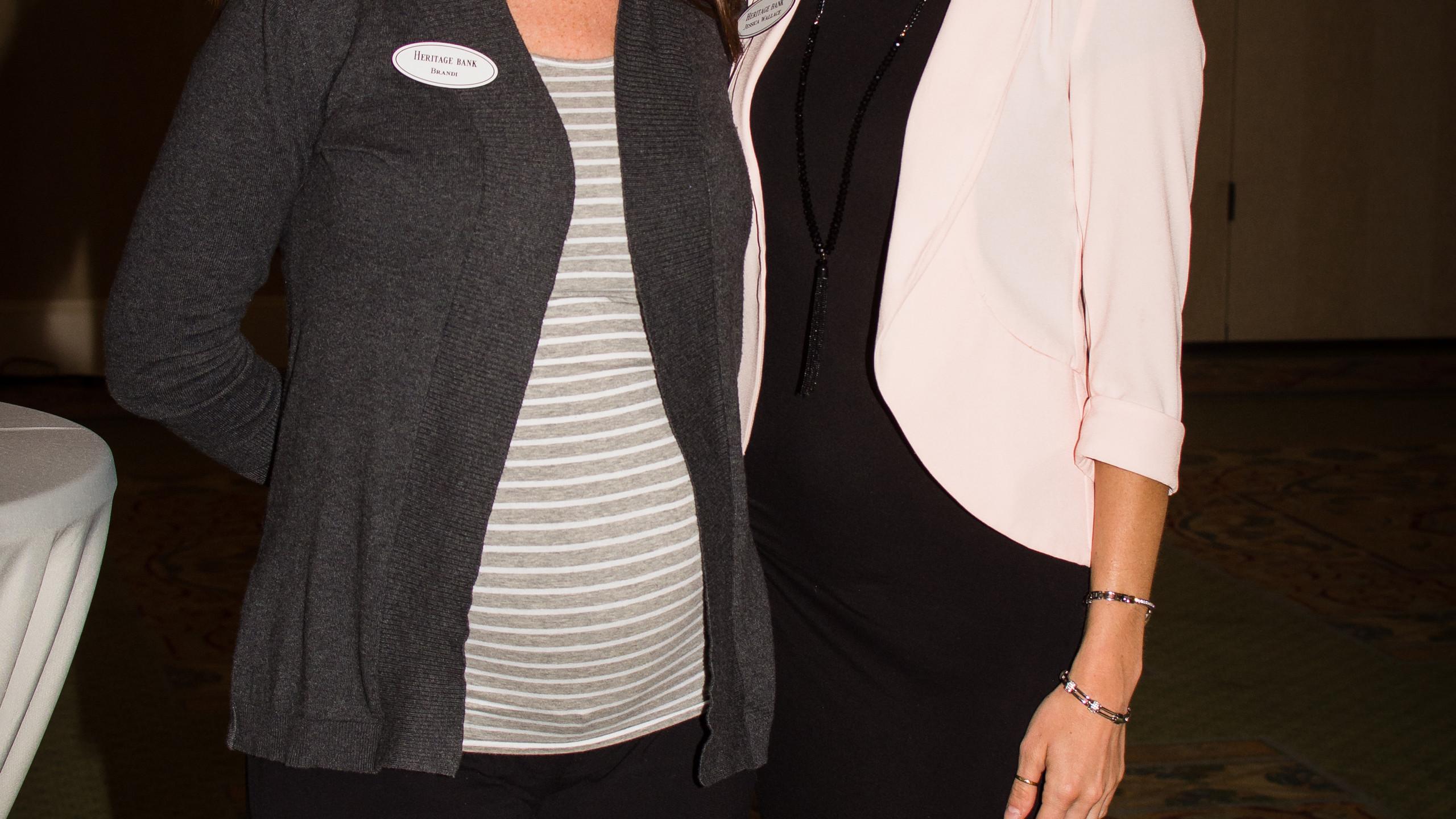 Brandi Conaster and Jessica Wallace