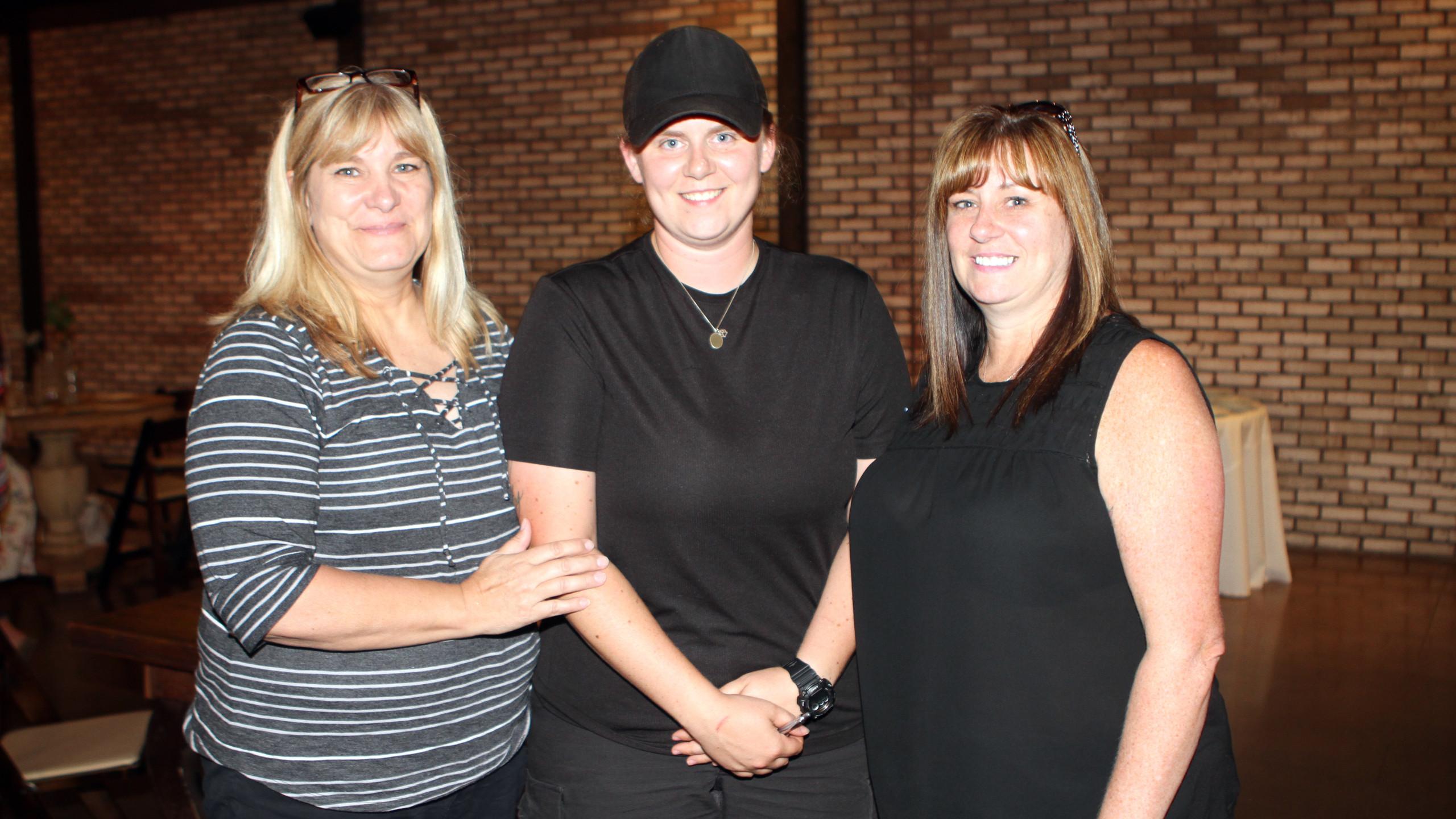 Robin Weeks, Courtney & Gina Louk