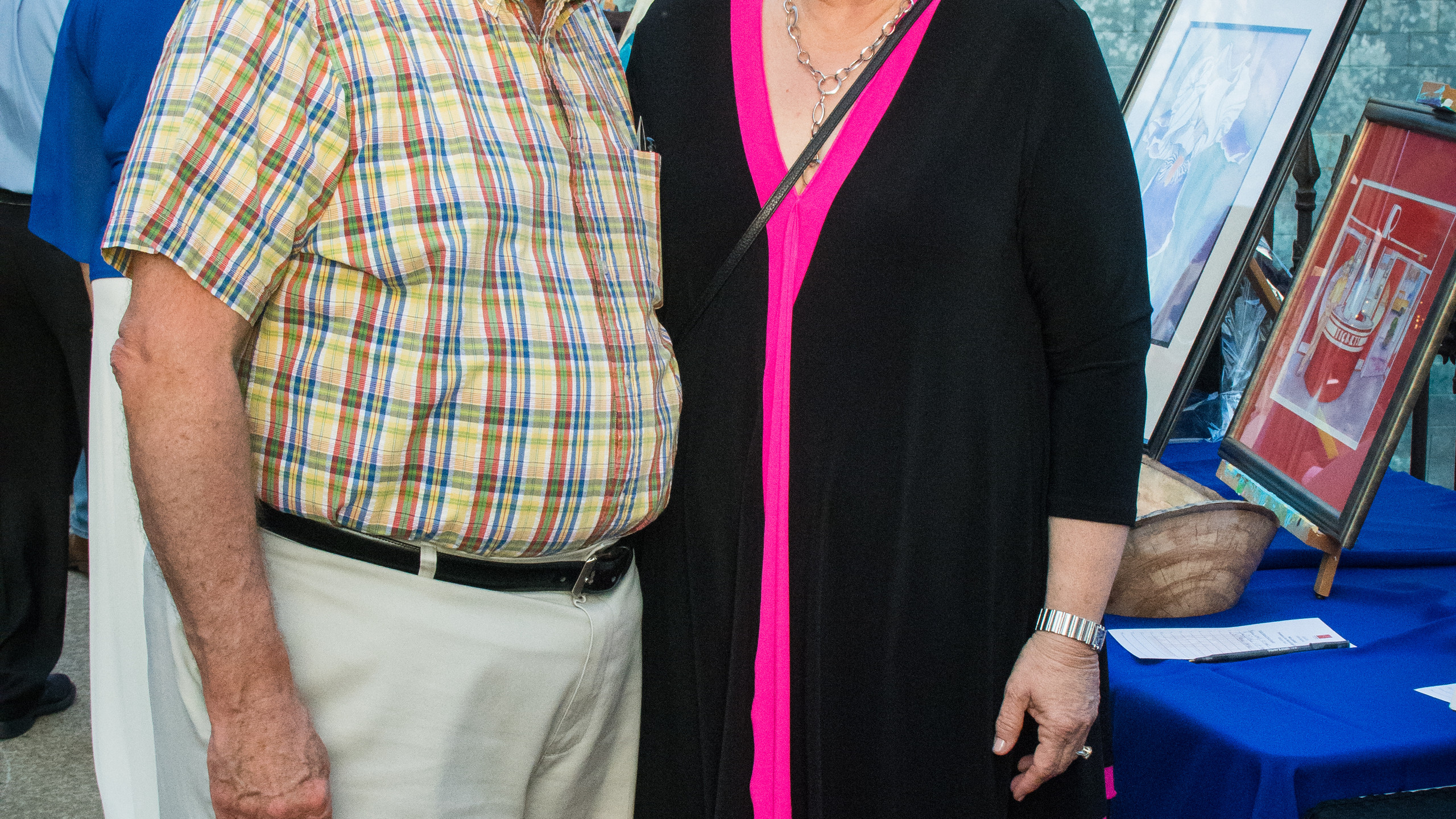 Jim Mann and Dr. Elisa White