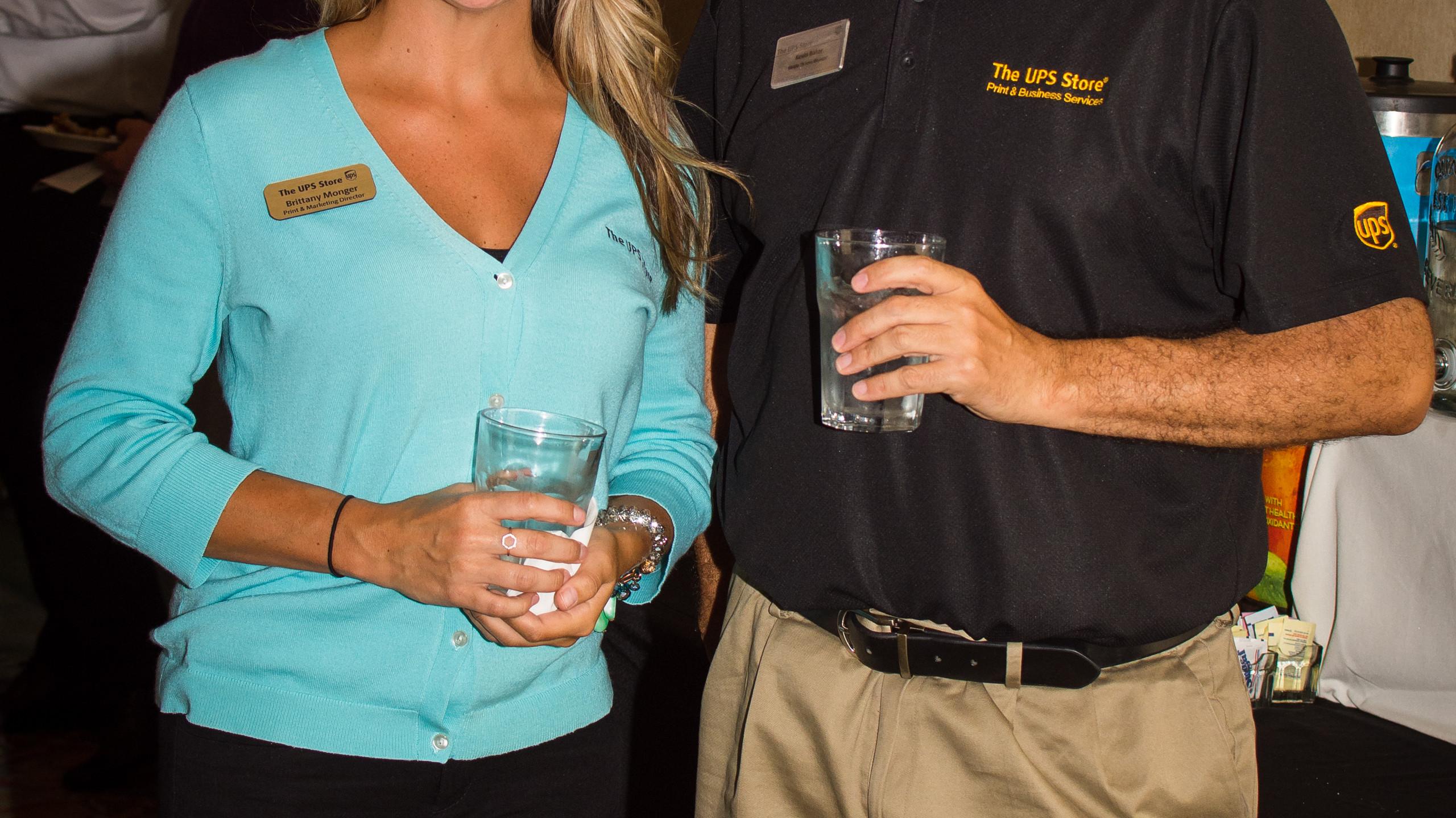 Brittney Monger and Kevin Baker