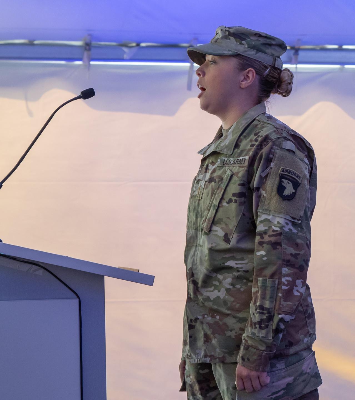 2nd Lieutenant Kelly Gregg, United State