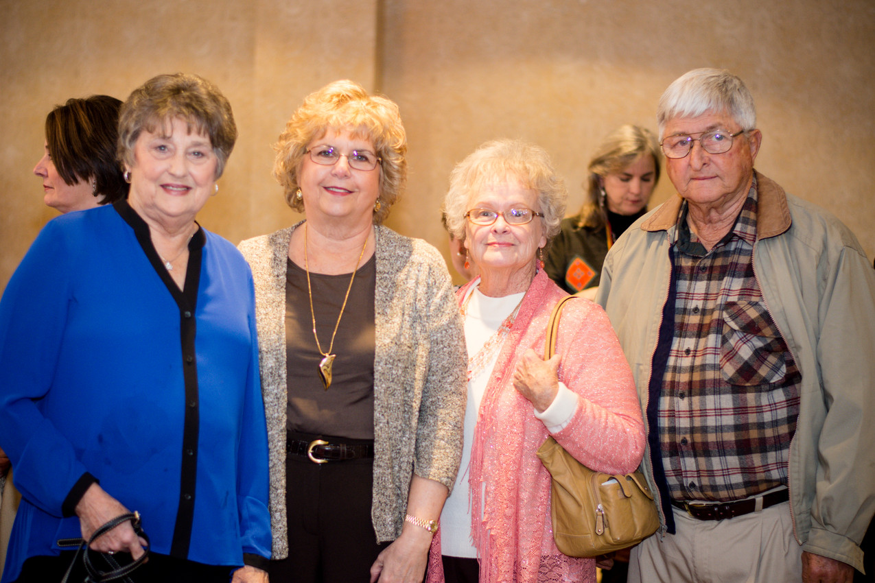 Sandra Rasor, Pam Wilson, Karen Taylor, and Steven Taylor