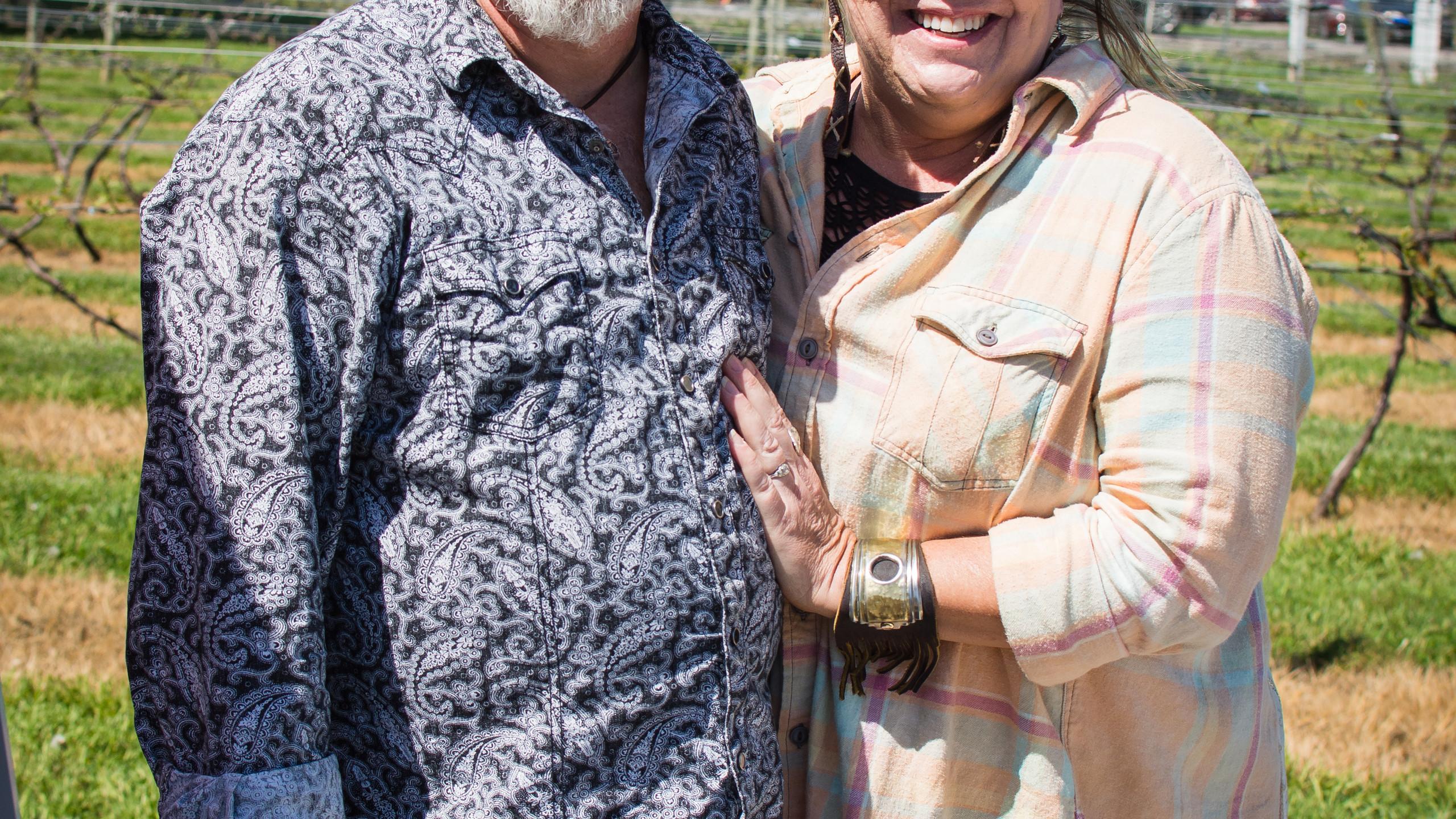 Darrell and Becky Martin