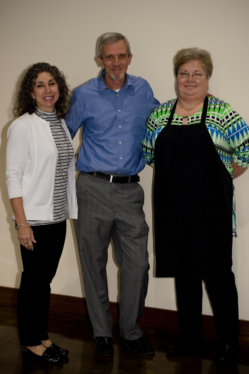 Anna Lambert, Mark Ester, and Brenda Sikes from The Chopping Block