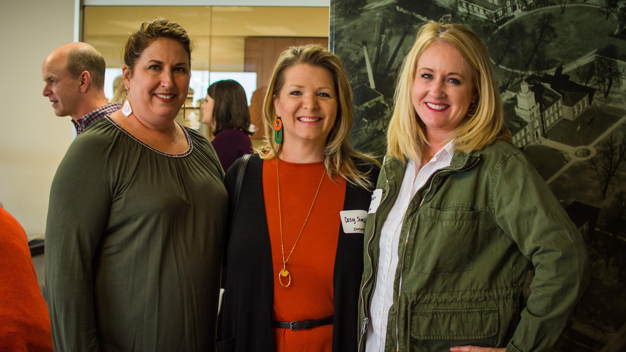 Beth Poppas, Cosy Sims, and Breanna Thom
