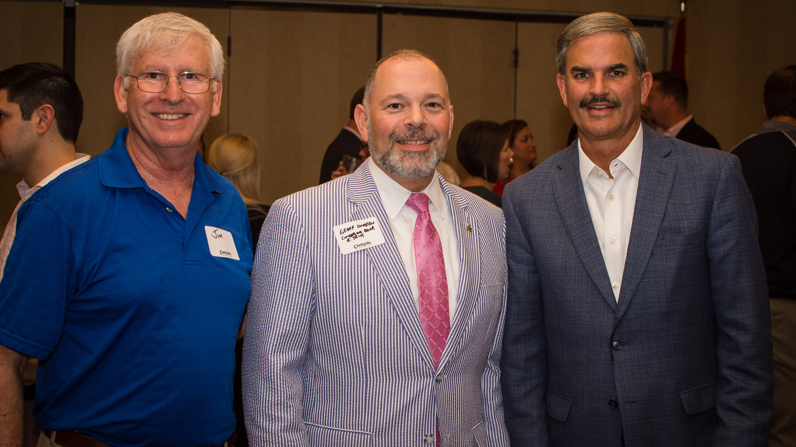 Jim Jay, Geoff Livingston, and Charlie K