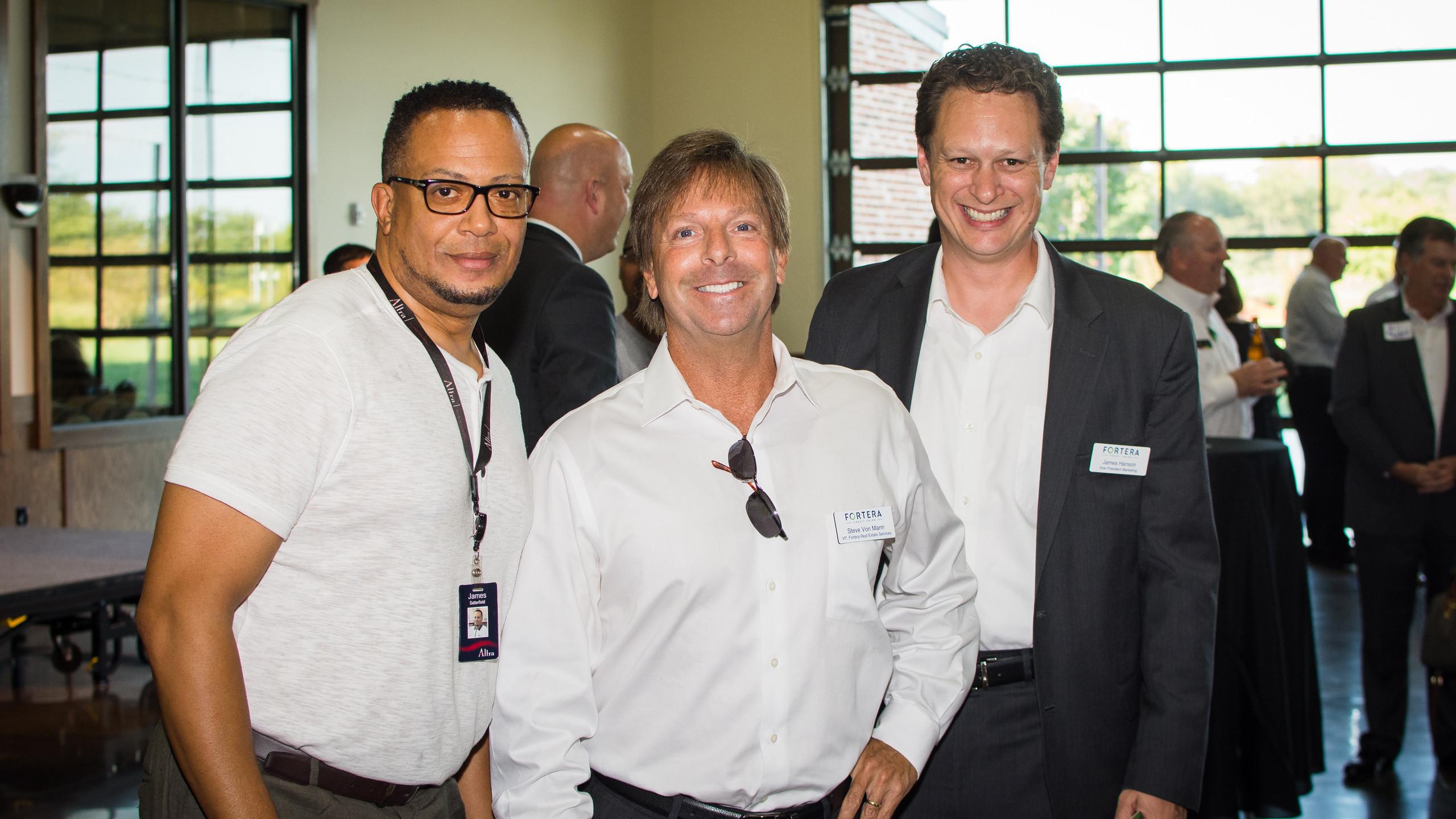 James Satterfield, Steve Von Mann, and J