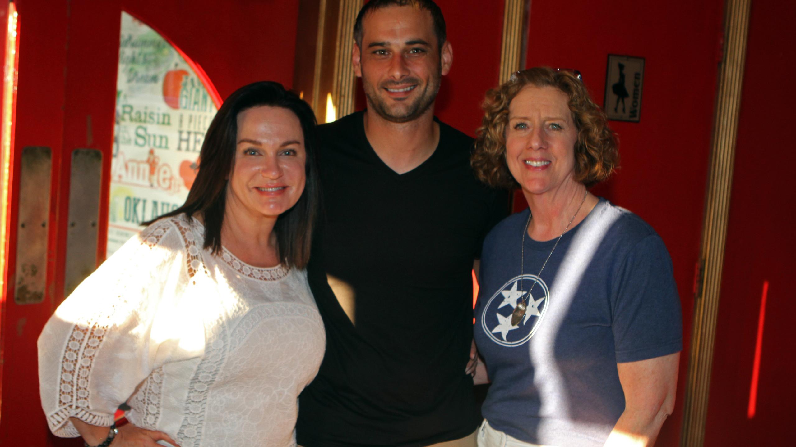 Stacy Turner, Jason Hodges, Nancy Ladd