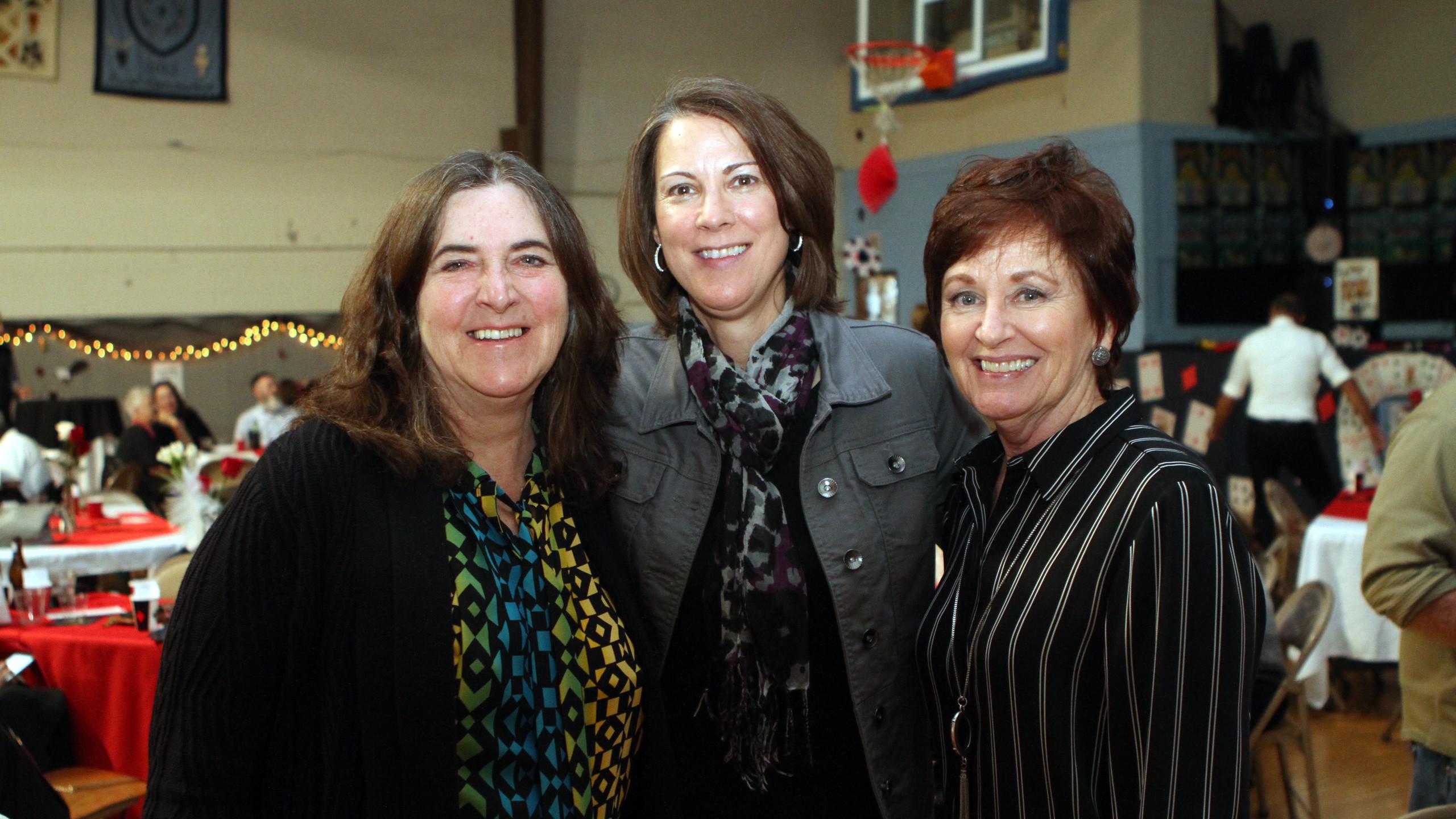 Laurel Lynch, Alisa Milton, Cathy Schach