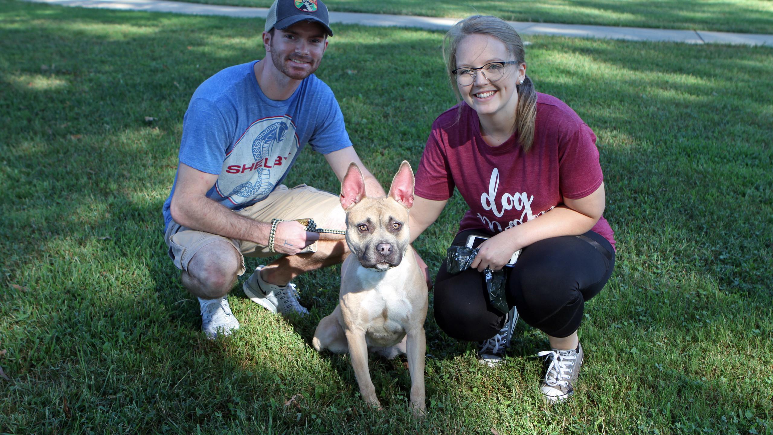 Josh & Shelby Coggins with Kiki