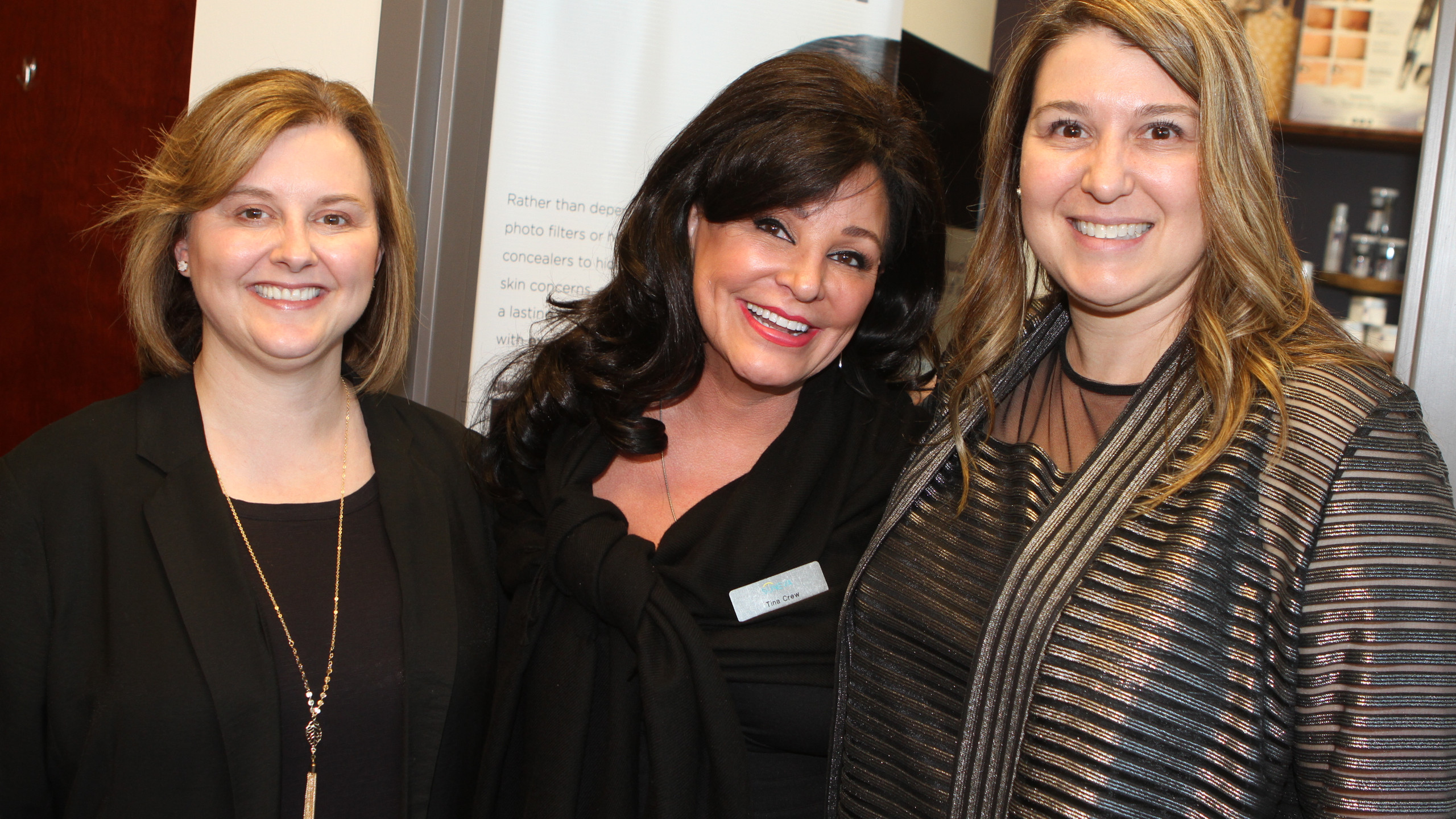 Lisia Woods, Tina Crew, Dr. Kim Lehman