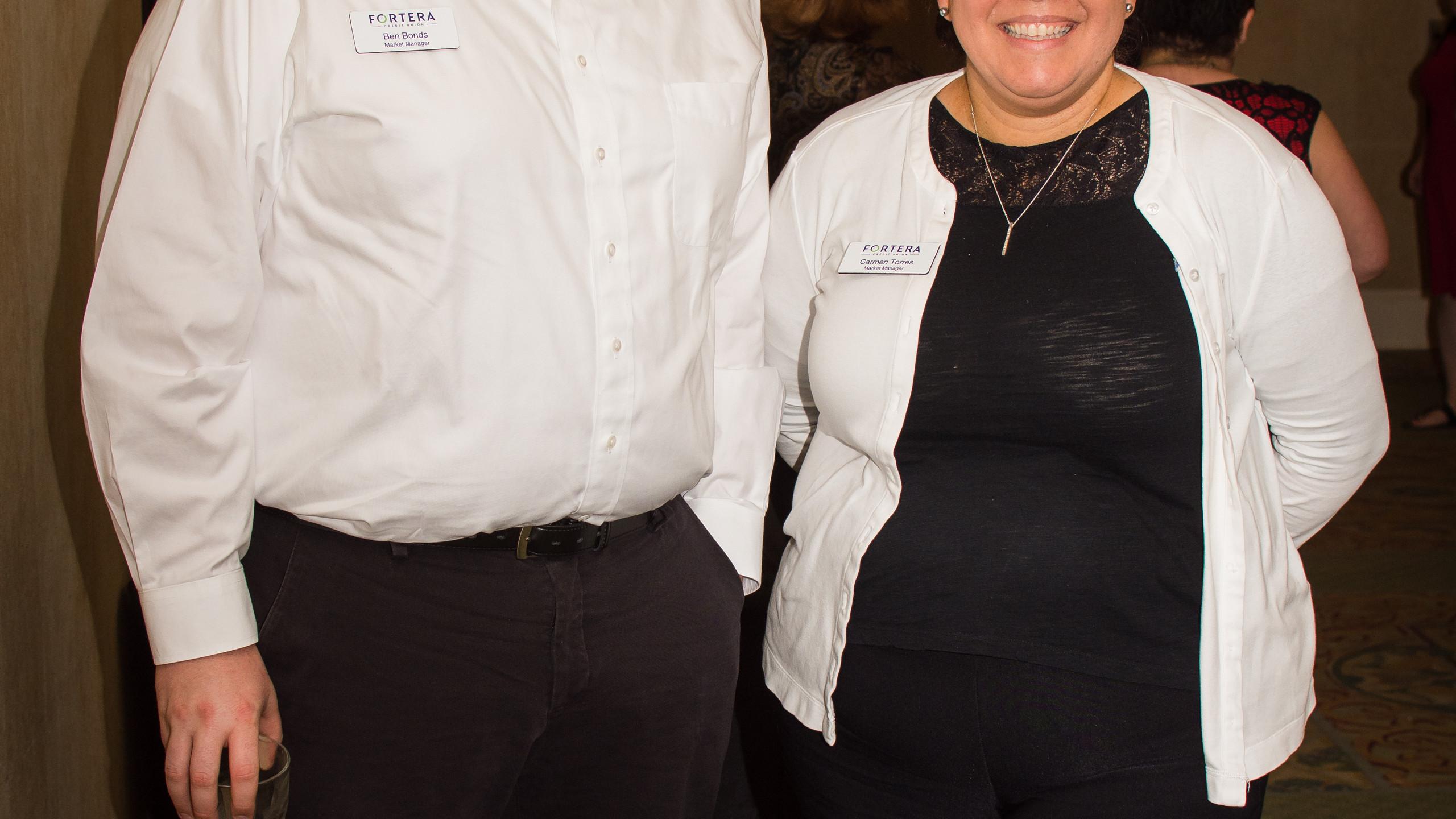 Ben Bonds and Carmen Torres