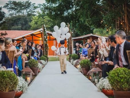 Balões para decorar o seu casamento