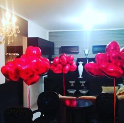 Balões de Casamento entregues. Obrigado