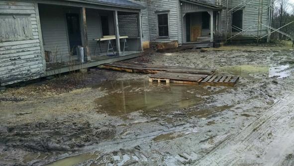 Mud Season in the Berkshires.