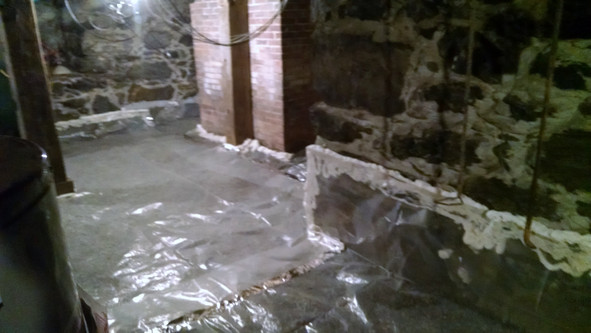 Basement Vapor Barrier