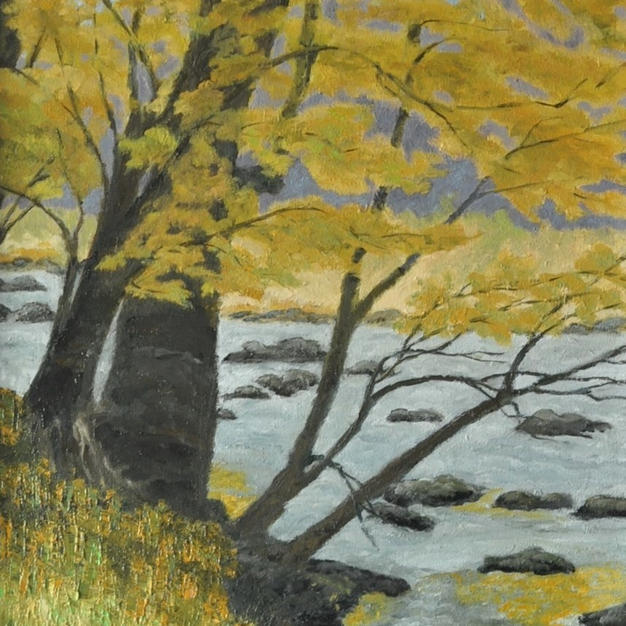 "Banks of Eno, 17"" x 25"""