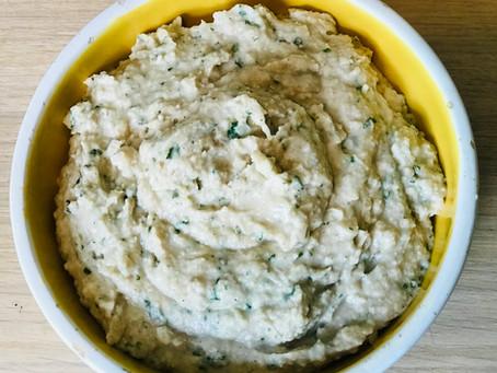 The White Bean & Coriander Hummus