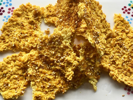 The coral lentil crust