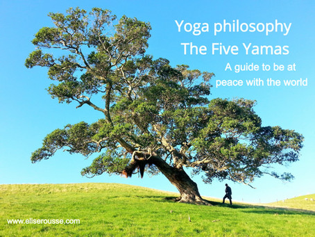 Yoga philosophy – The Yamas