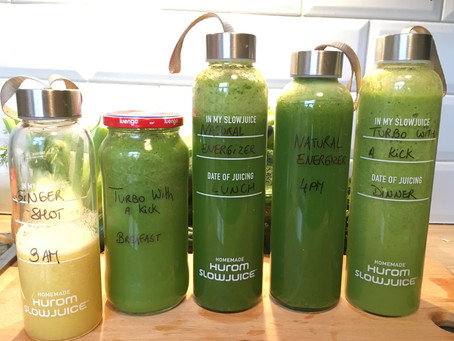 The Five-Day Juice Detox – Day One