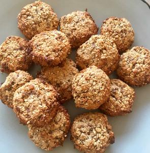 Biscuits à l'avoine, aux graines et aux noix