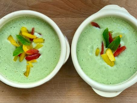 The Cooling Cucumber & Avocado Gazpacho