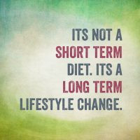 Diets simply don't work
