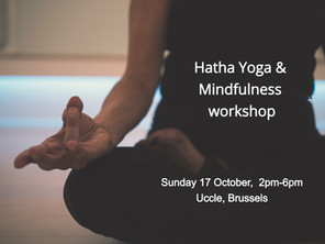 Hatha & Mindfulness Workshop to relieve stress, relax and retune. (Brussels)
