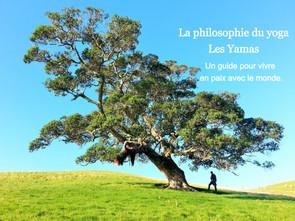 La philosophie du yoga - les 5 yamas
