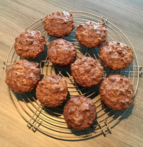 The glorious carrot ginger muffin