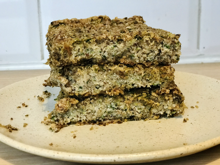 Courgette & Oat Flour Bread
