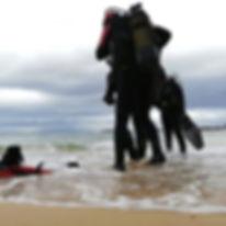 Long beach diving, scuba dive, discover scuba dive, born diving