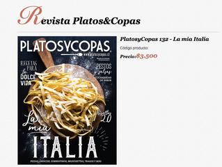 Primera aparición en Revista Plato & Copas!