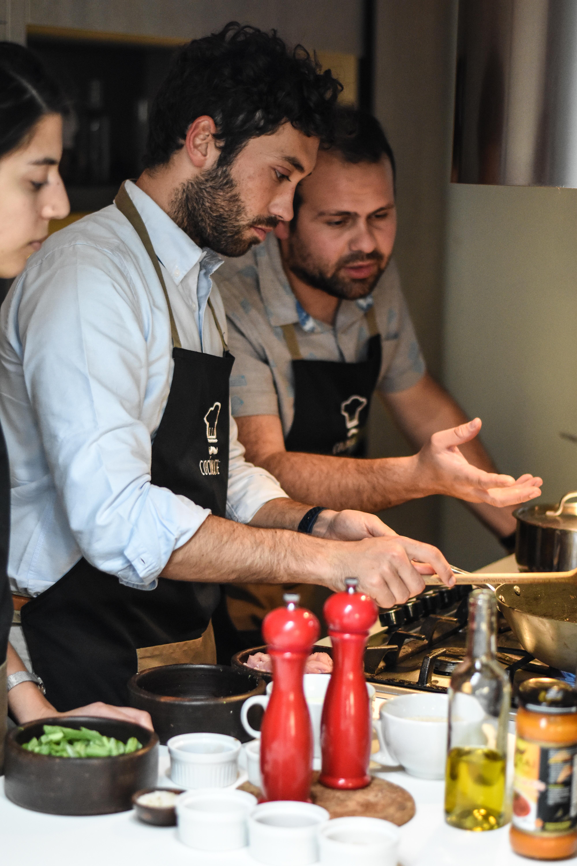 taller de cocina, clases de cocina