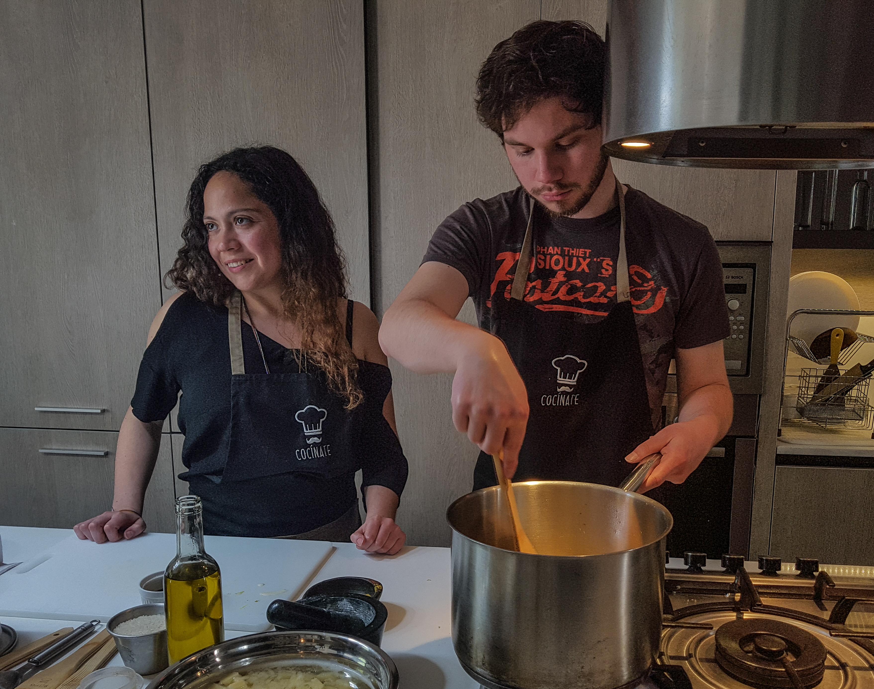 clases de cocina cocinate