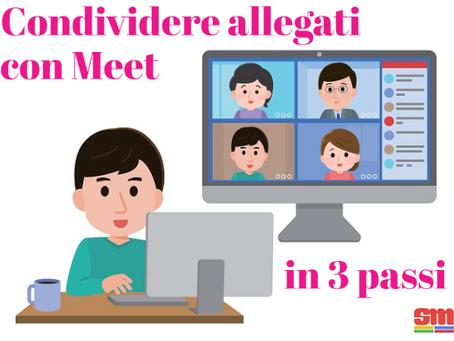 Condividere allegati con Google Meet in 3 passi