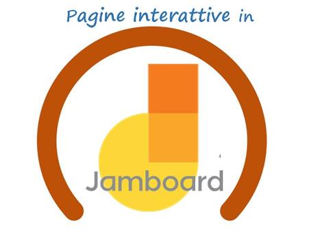 Trasformare i pdf in pagine interattive in Jamboard