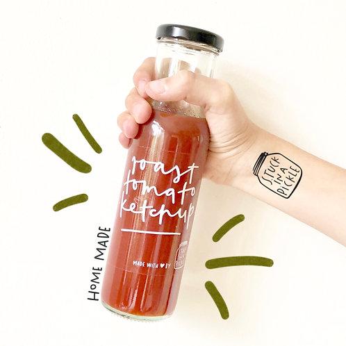 Roast tomato ketchup