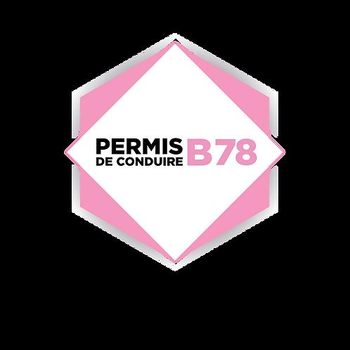 Permis B78 - Liberté