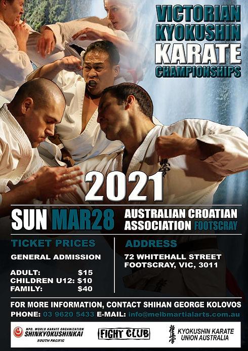 2021 - Victorian Championship Poster - W