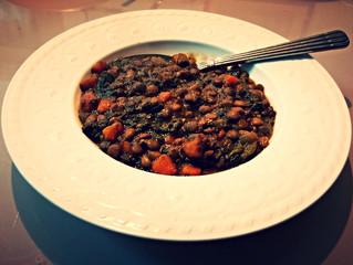 Slow Cooker Lentil Soup with Carrots