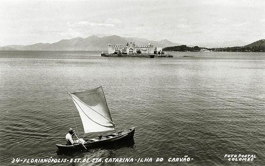 Cartão-postal da Ilha do Carvão