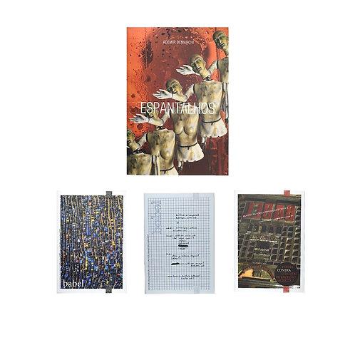Combo 4: Espantalhos + Revista Babel 7, 8, 9